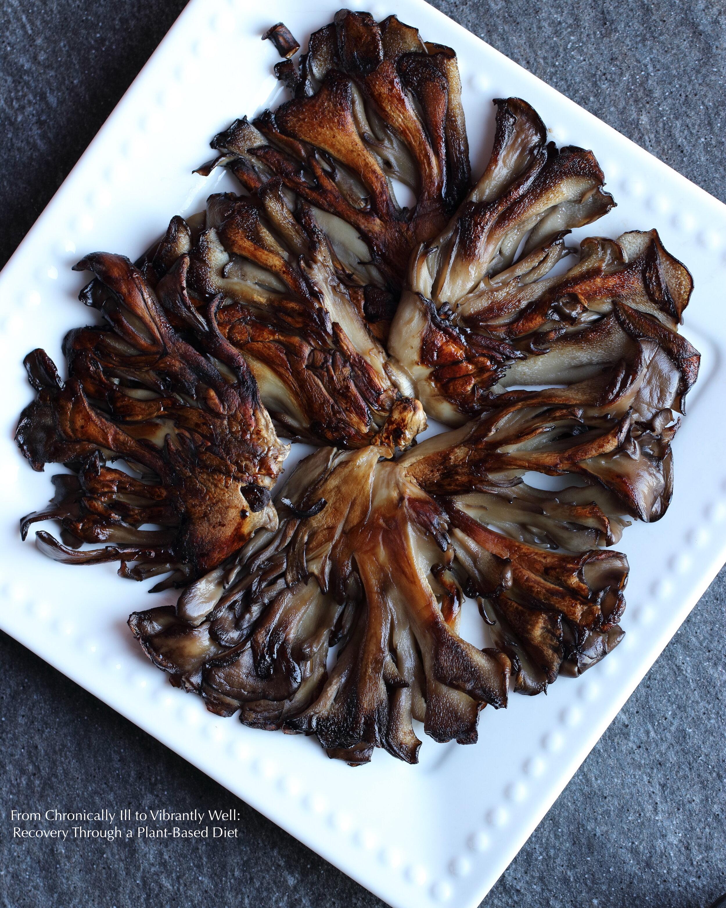 Maitake Mushroom Steaks