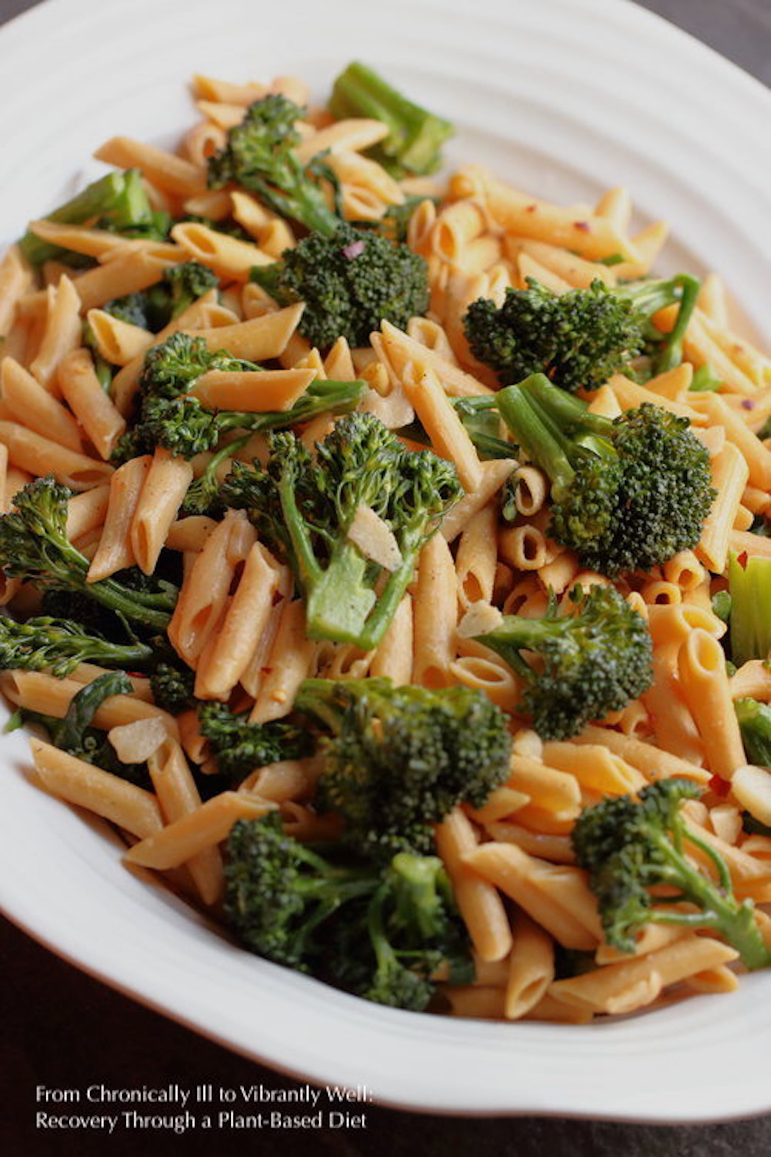 Broccolini and Pasta