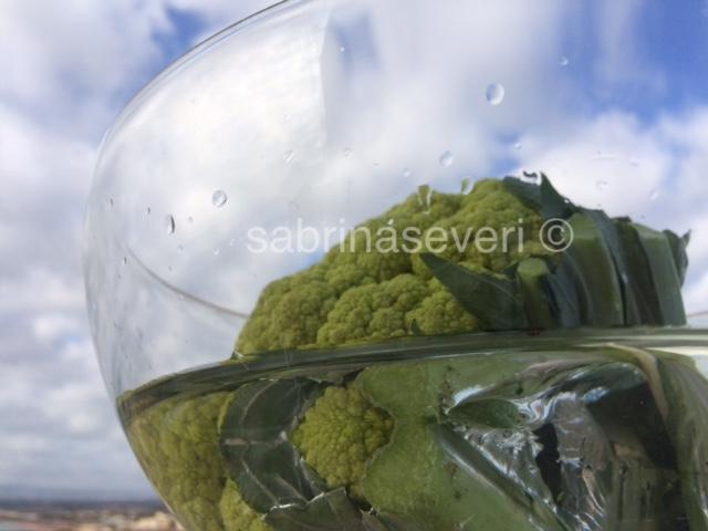 cavolo verde - green cauliflower