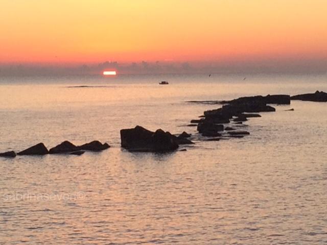 Sunrise Italy