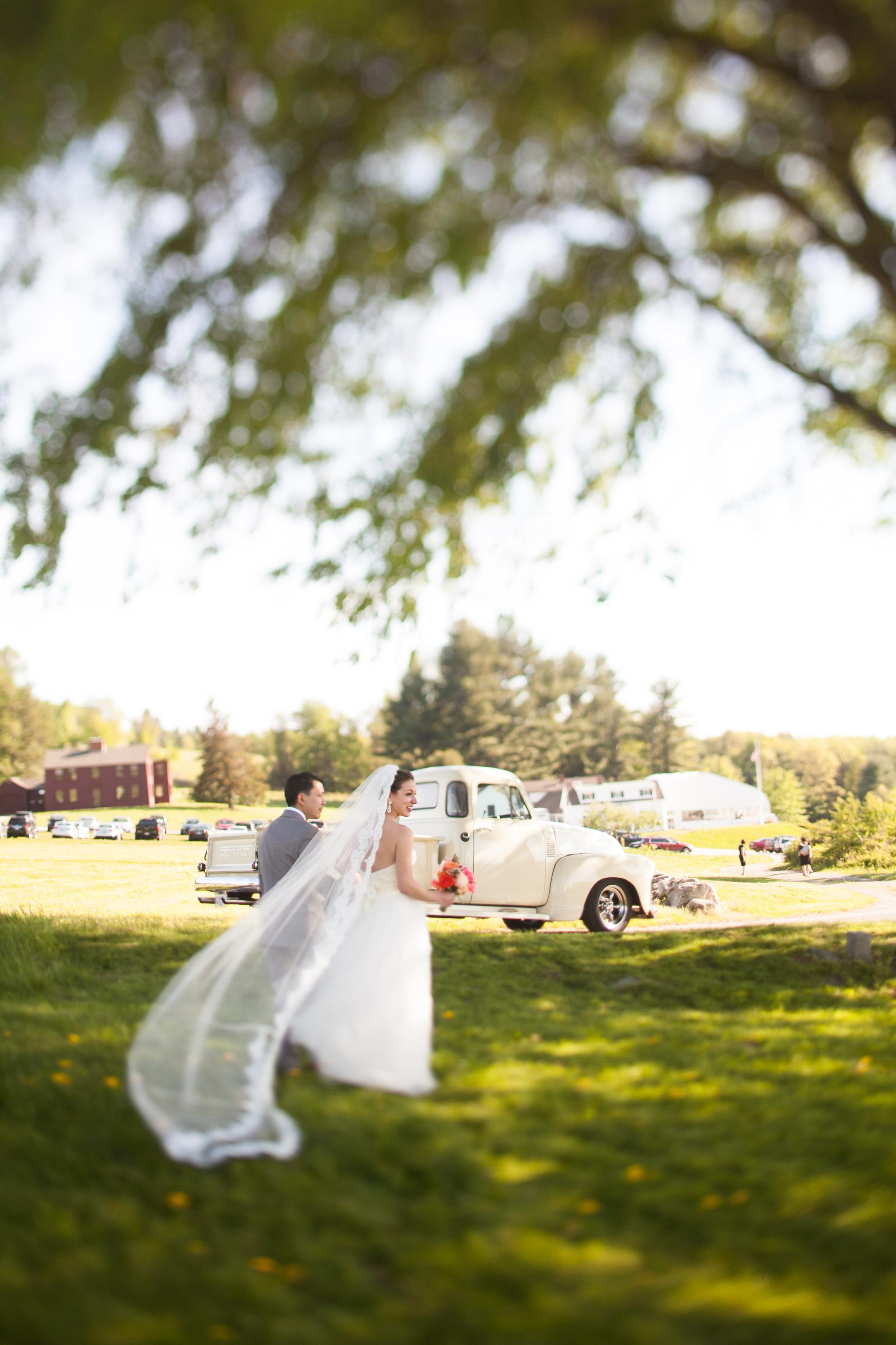 Fruitlands Museum Wedding Photographer