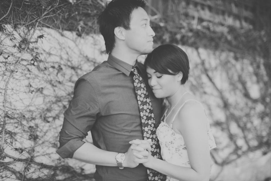 Christine & BeeJae   Napa Valley Engagement Session