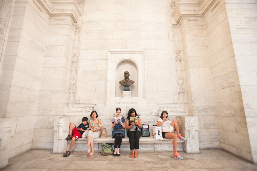 New York Public Library Photography | Book Twins | Bailey & Kare