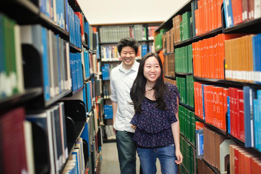 Jenn & Tad | UC Berkeley Engagement Session