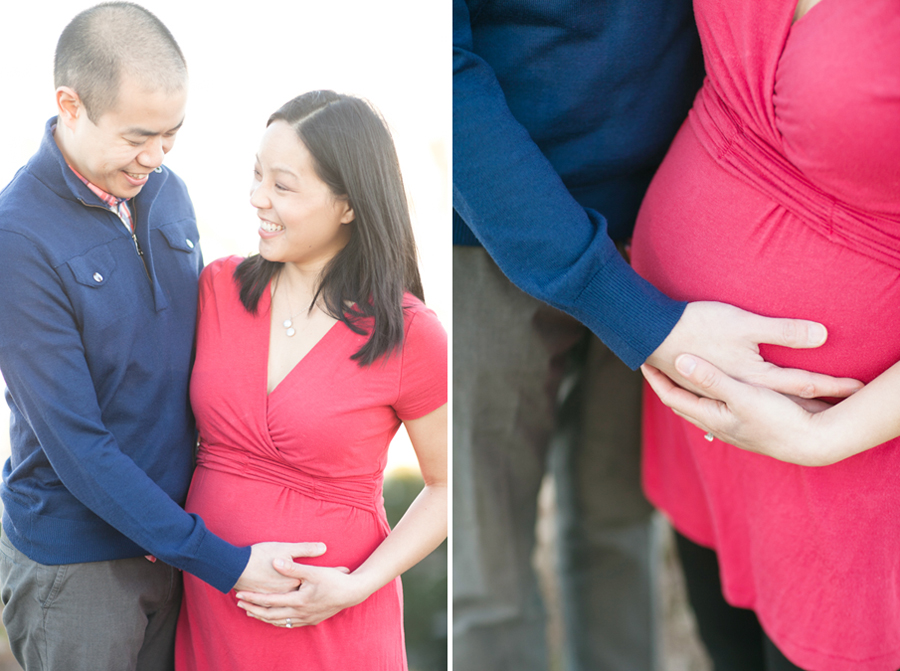 Denise & Ryan | San Francisco Maternity Session