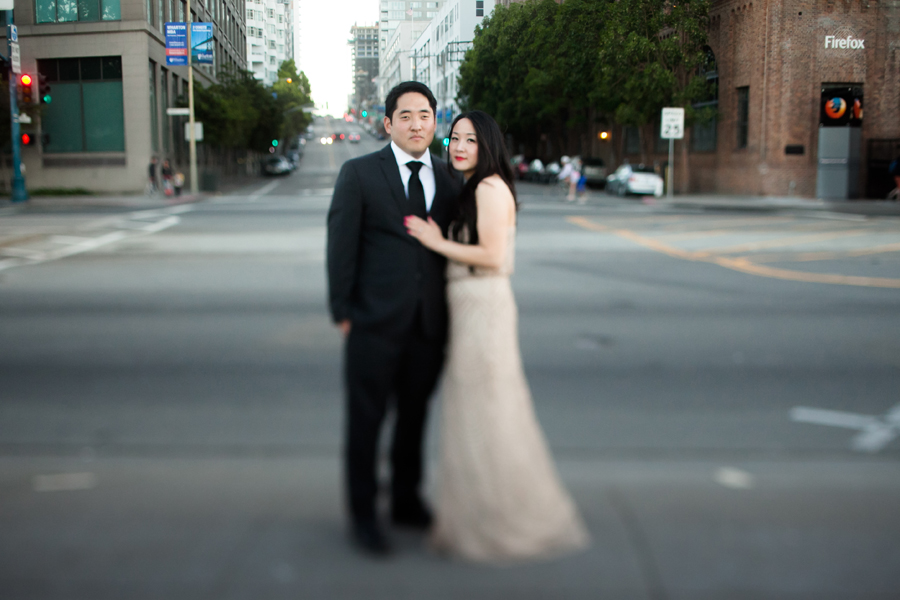 San Francisco Pier Engagement Photographer | Suzanne & Eugene