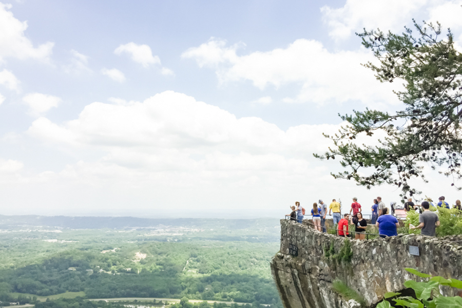 Chattanooga Rock City Lookout Mountain Photography