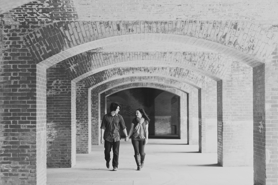 Jessica & Ryan | Fort Point Engagement Photography