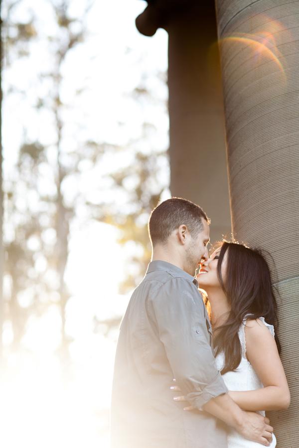 Golden Gate Park Engagement Photographer   Crystal & Gavin