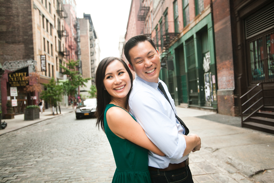 New York Engagement Session | Betty & Bryant
