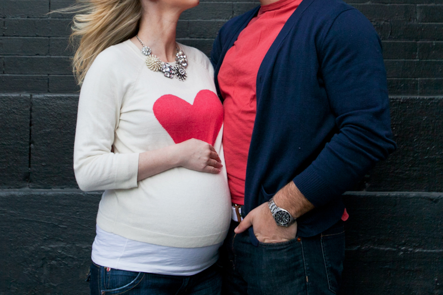 Leigh Erin and Daniel Maternity