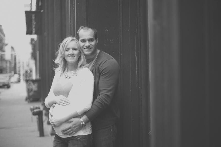 Leigh Erin and Daniel Maternity