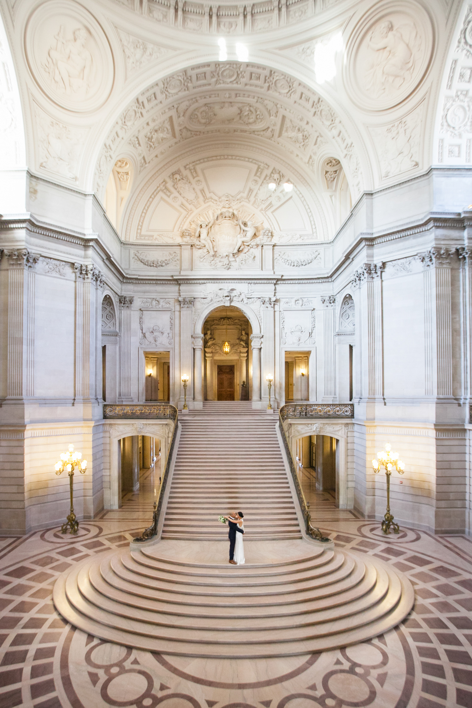 San Francisco City Hall Elopement Photographer