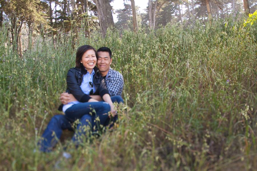 San Francisco Presidio Engagement Photography | Melia & Brian