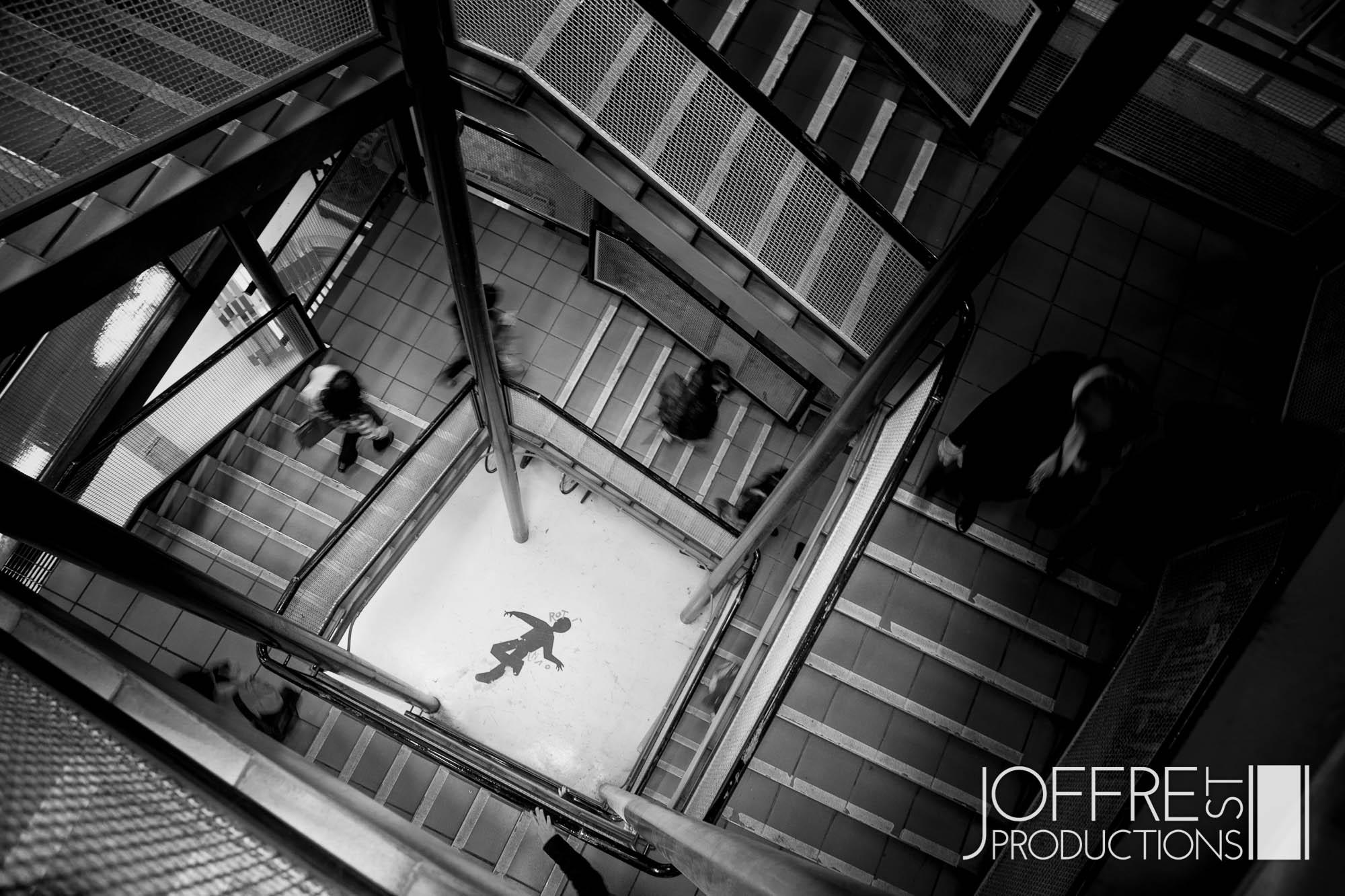 Staircase -   UTAS Art & Visual Communication Hobart