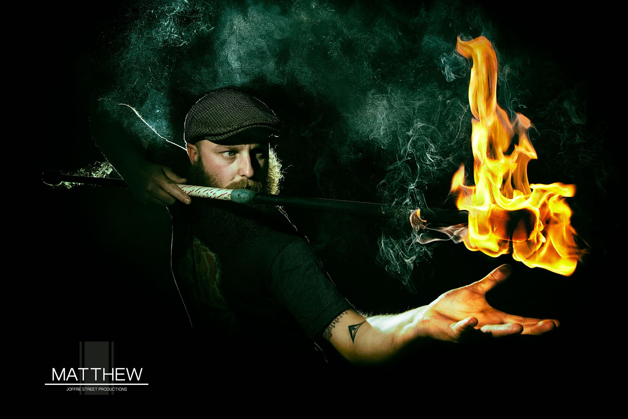 Matthew Fire Twirler