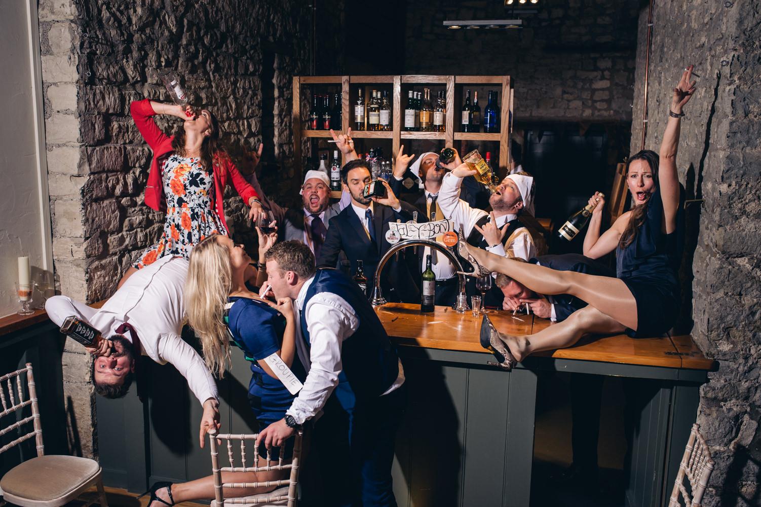 priston Mill - Tythe Barn- Bath  wedding Photography