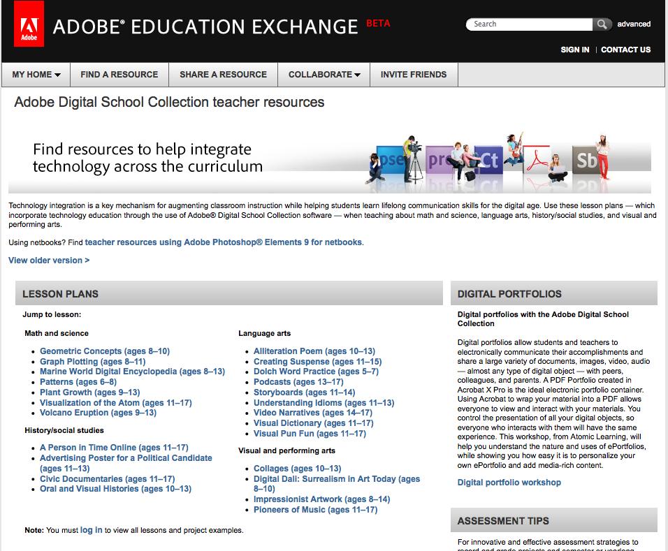 adsc ed exchange homepage.png