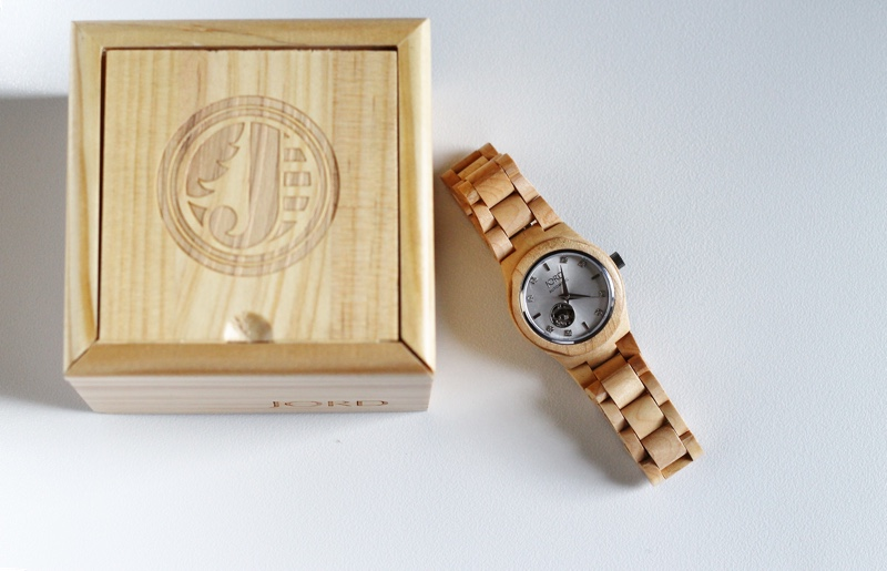 Sustainable Wood Watches by JORD | thenotepasser.com