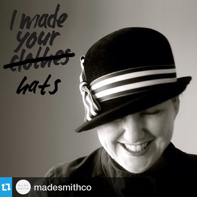 Thank you @madesmithco for the lovely #WhoMadeMyClothes spotlight 🙏 For more great designers and their stories check out  @madesmithco    Repost below ————————————————  Who made your hats? Una Murphy-Hernandez did… by hand! She incorporates vintage ribbons, buttons and pins in her sustainably made hats and headpieces that bring an old world charm to her modern designs. Read her story on madesmith.com #ethicalfashion #FashRev #WhoMadeMyClothes #unahats #uniqueusa #uniquela #millinery #hat