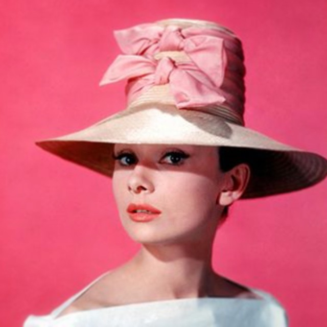 I'm on a pink kick 💕 for   Vintage Hat Inspiration #tbt #1960s    ___________________________________  #vintagestyle #vintagehollywood #audreyhepburn #pink #vintagehat #inspiration #prettyinpink #kentuckyoaks #kentuckyderby #unahats