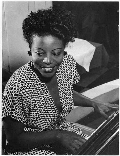 Pianist Mary Lou Williams