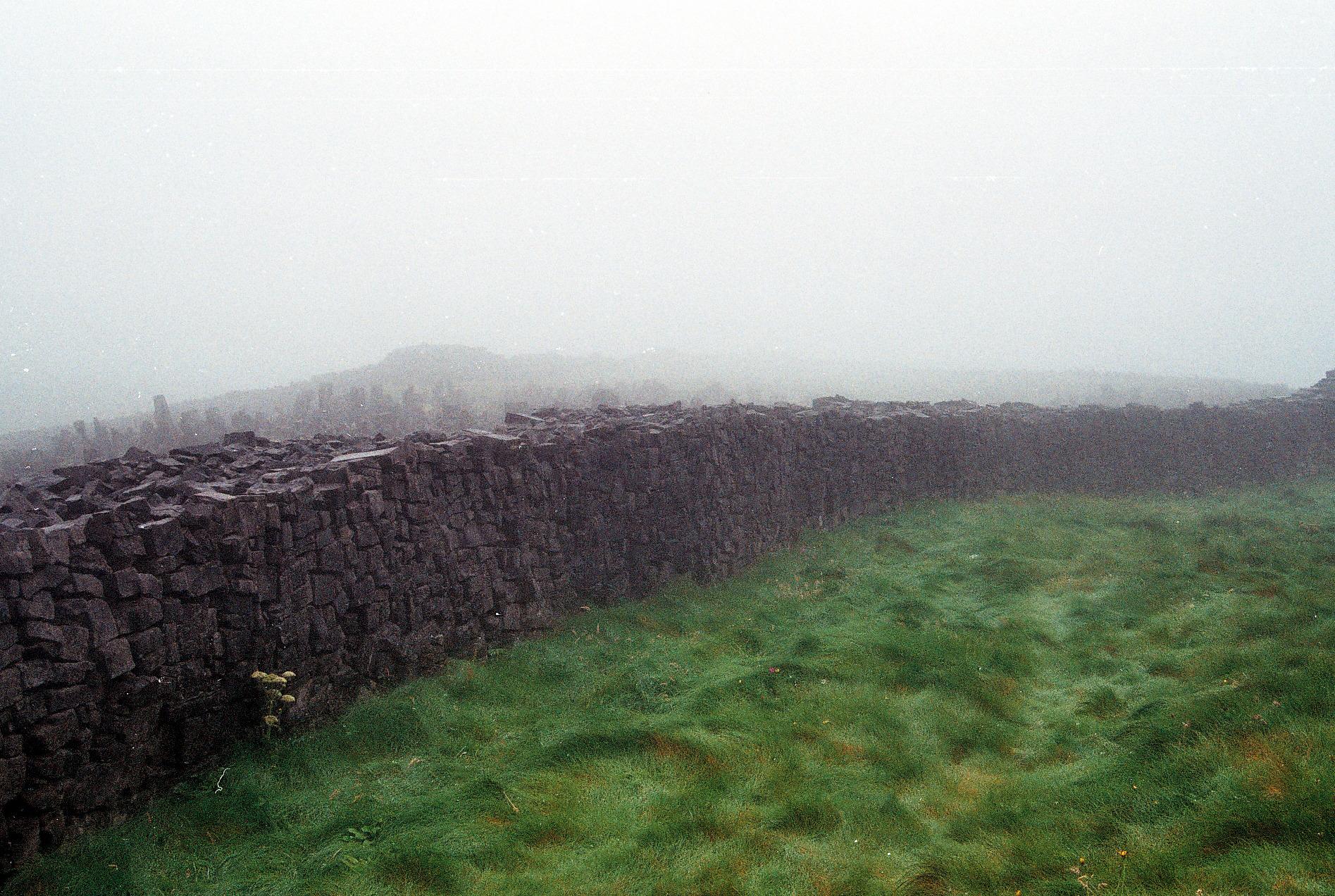 Aran Islands, Ireland. 35mm film, 2012.