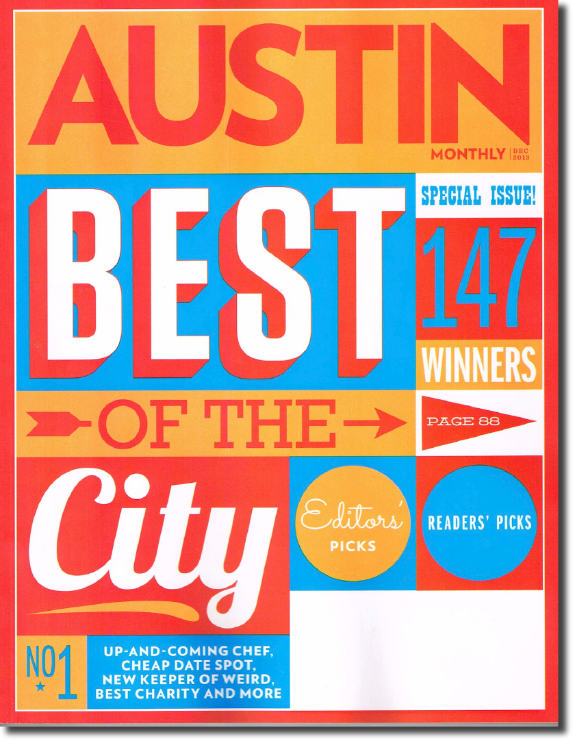 Austin Monthly for Equity Endeavor