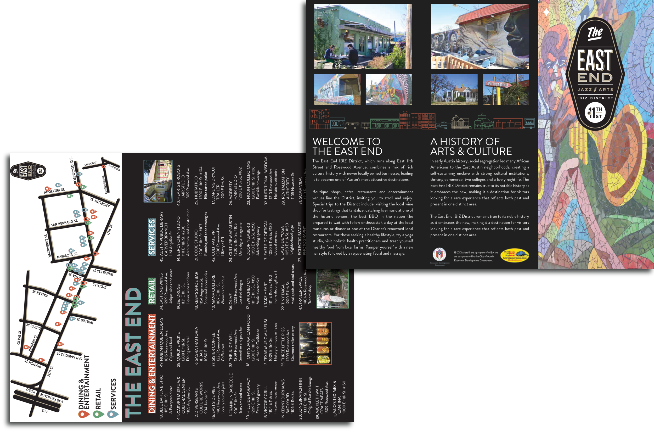 East End Business District Guide   A directory for Austin's East End IBIZ District.