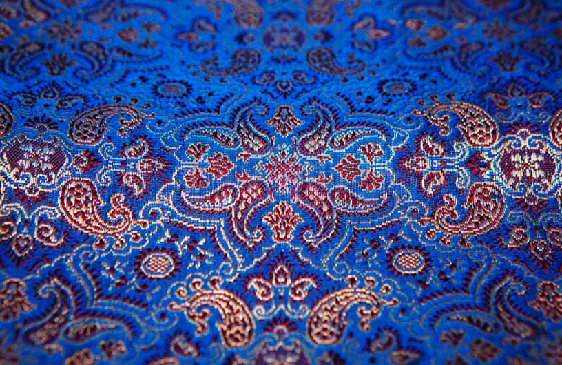 Banarsi Sari Weave Detail