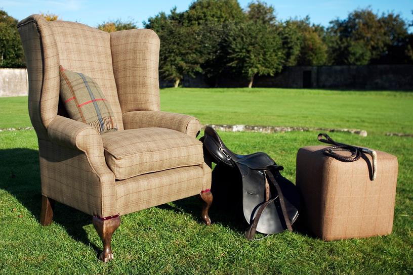 Kencot Armchair - Teasel England