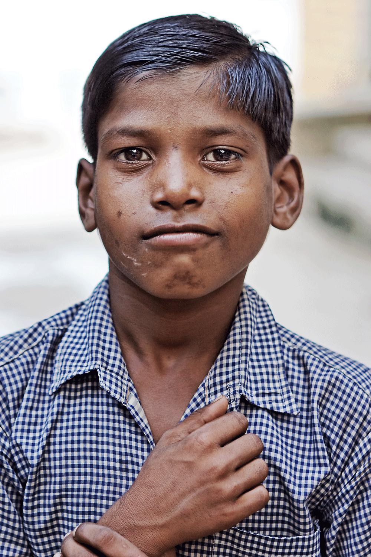 Boy, Banares, India