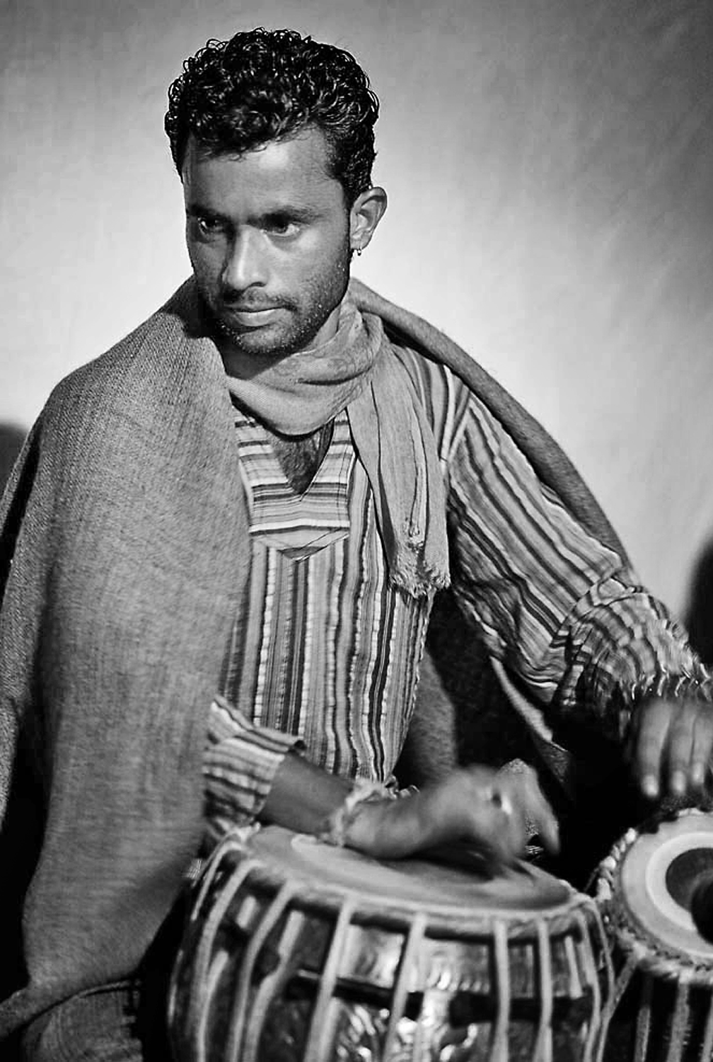 """Gino"", Master Tabla player, Manali, India"