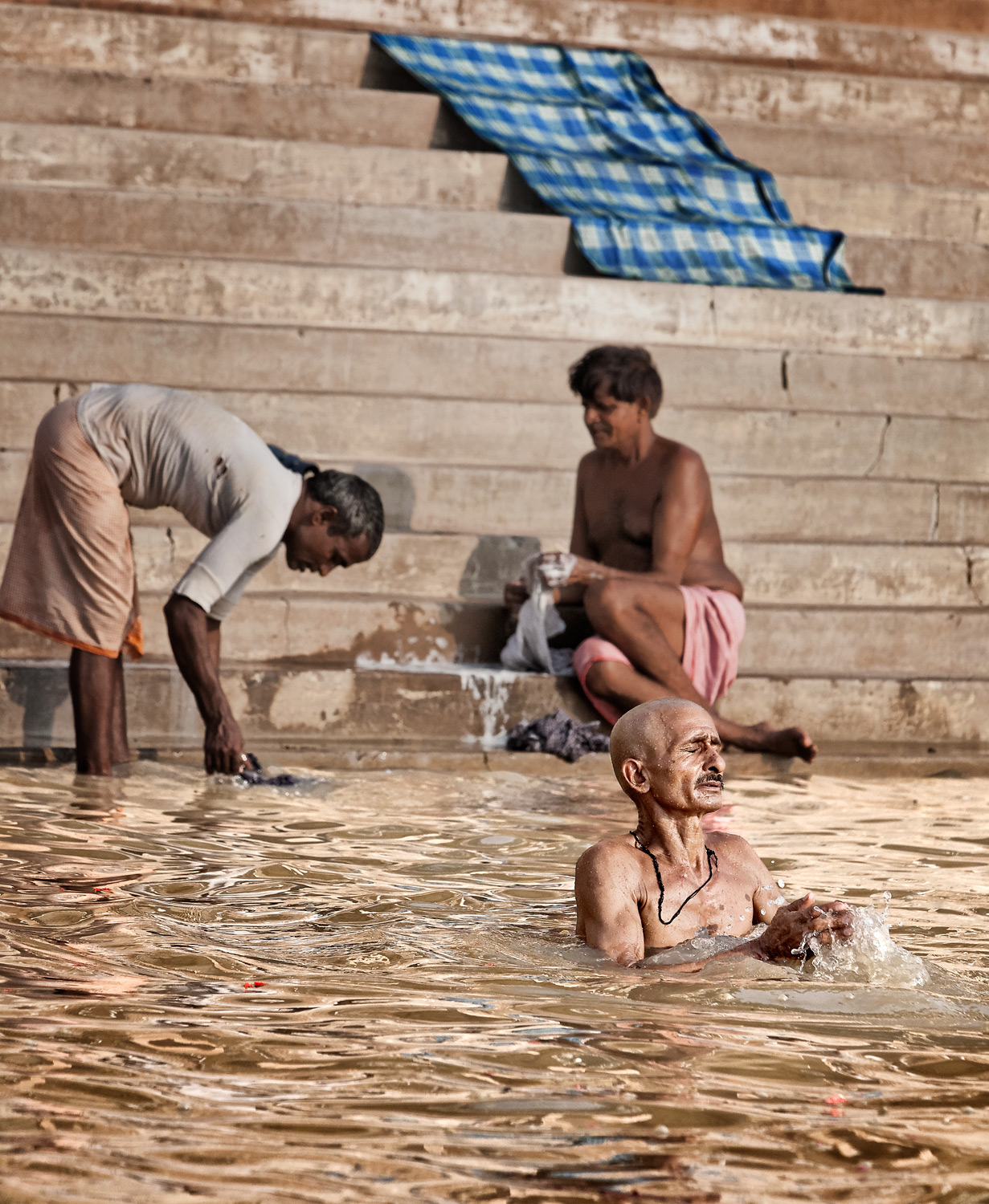 The sacred and the profane, Varanasi, India