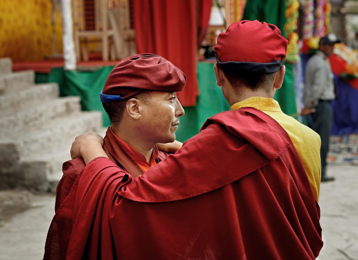 """""""Brothers"""" - Hemis Monastery"""