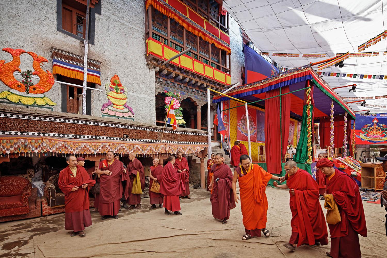 Masters post-teaching, Hemis Monastery