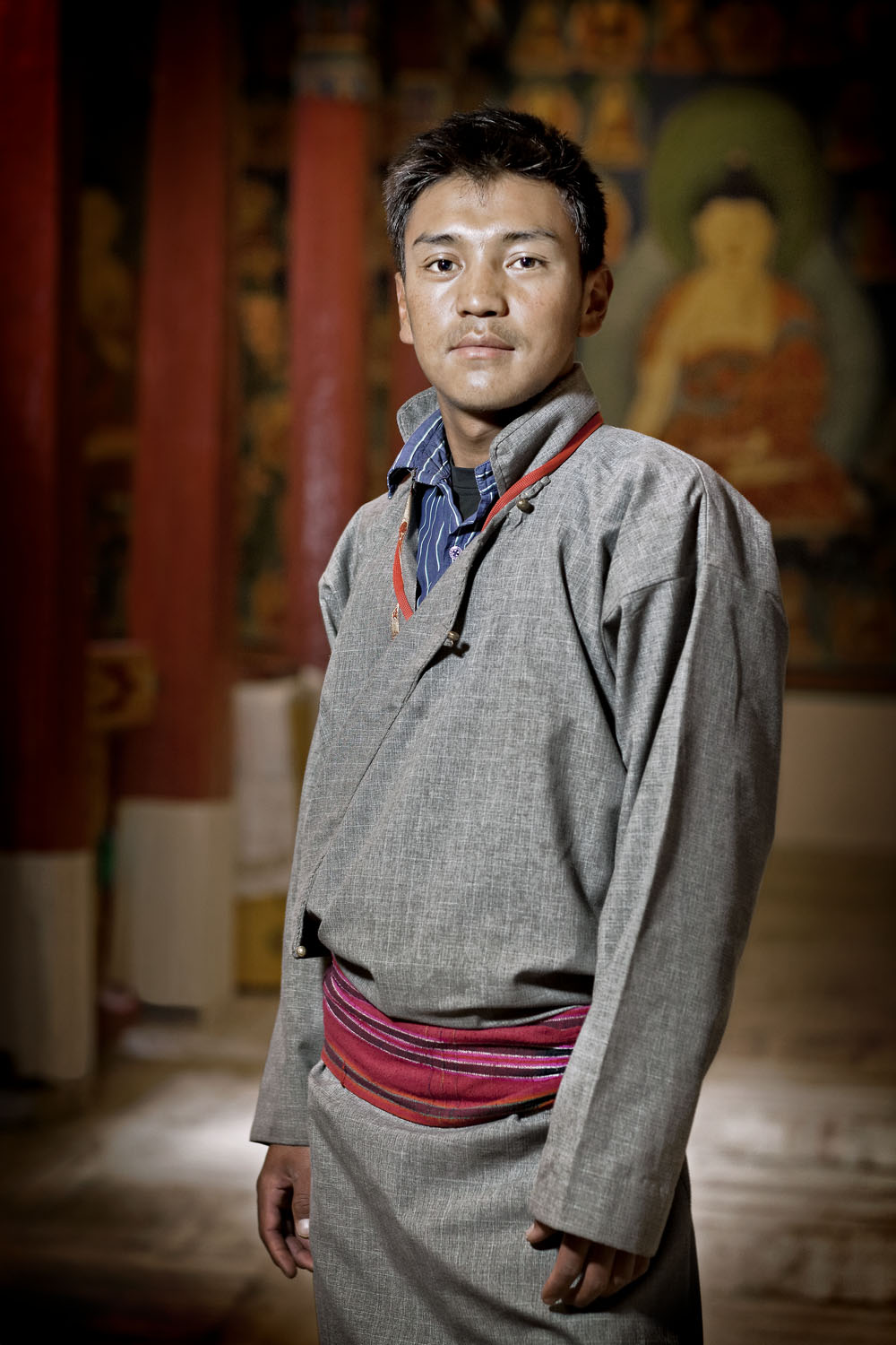 Portrait, Hemis Gompa, Ladakh, India