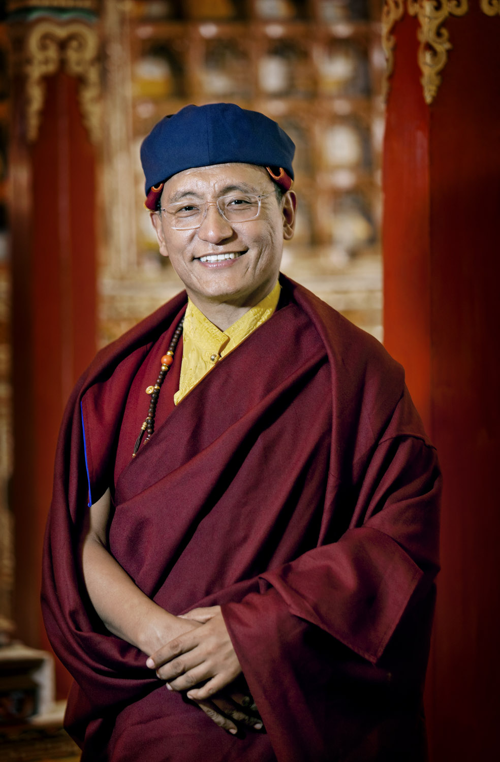 His Holiness the Gyalwang Drukpa, Hemis Gompa, Ladakh, India