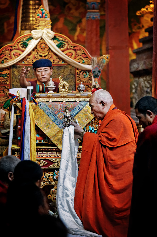 Tsok Offering, Hemis Monastery