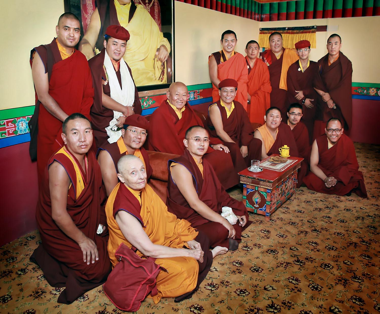 Meeting of the Masters, Hemis Monastery