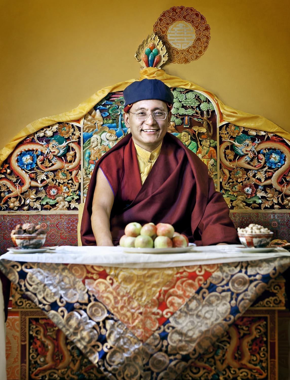 His Holiness the Gyalwang Drukpa, Hemis Monastery, Ladakh