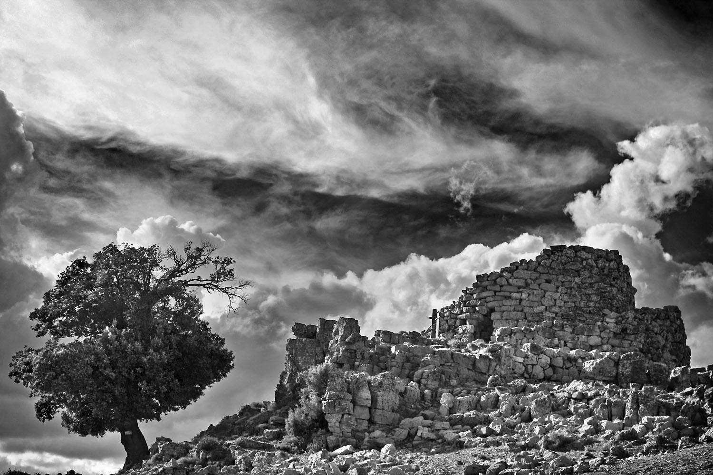 Nuraghe, near Nuoro, Sardinia, Italy