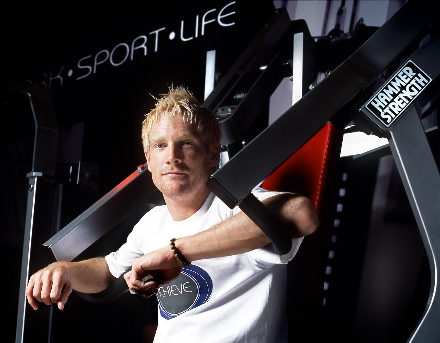 Iwan Thomas for Life Fitness