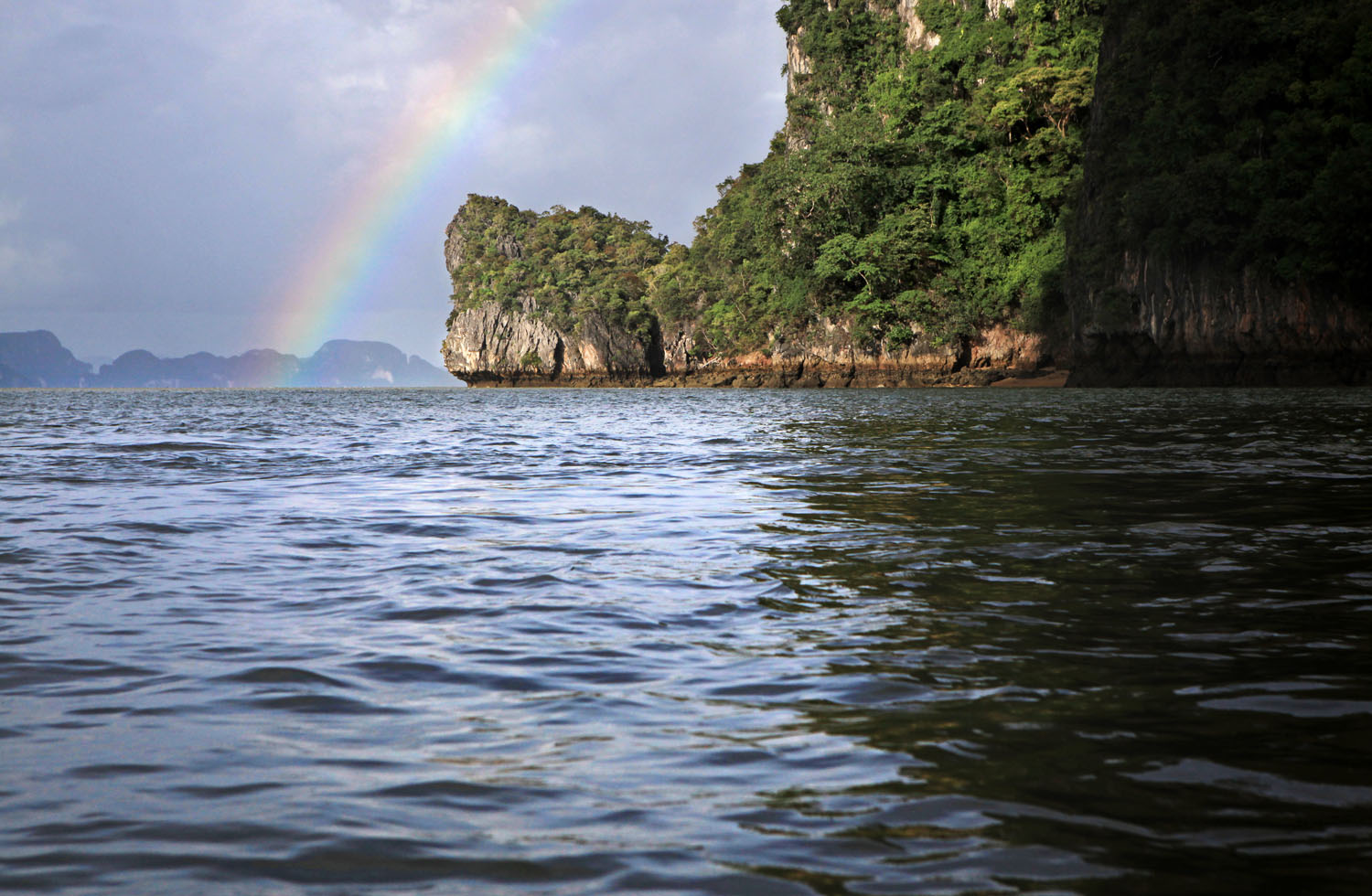 Rainbow, Ao Phang Nga National Park, Thailand