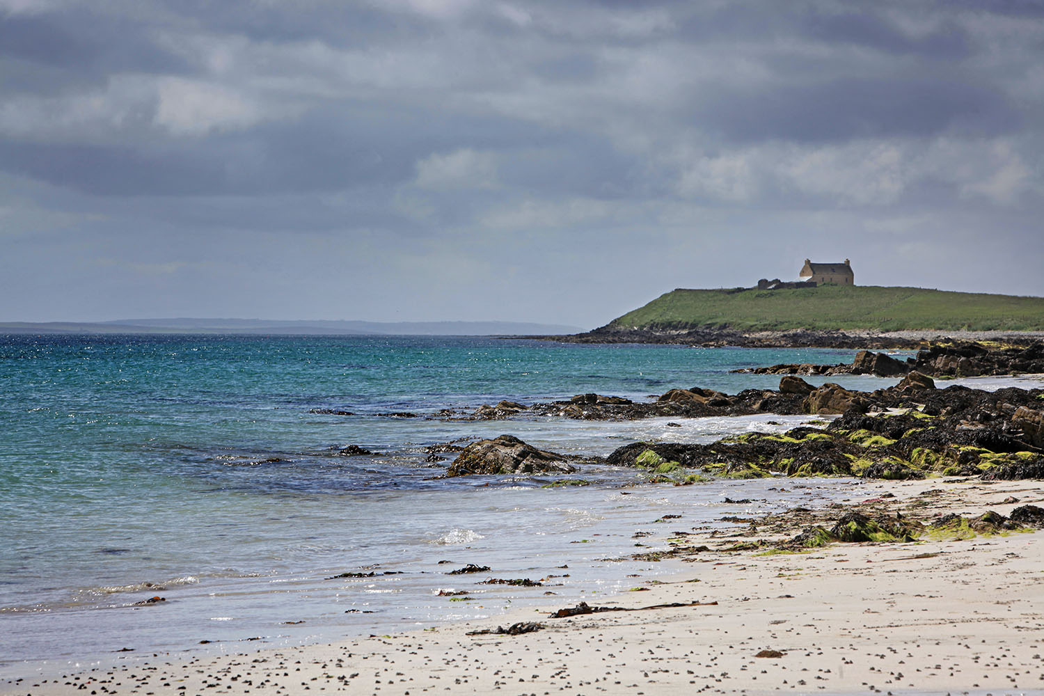 Egilsay Beach, Orkney Islands, Scotland, UK