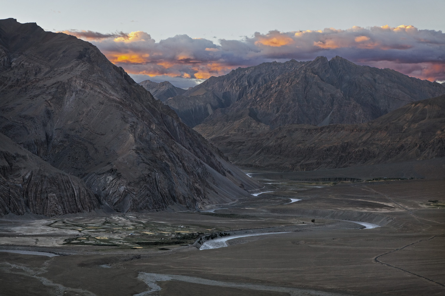 Zanskar River, Ladakh, India