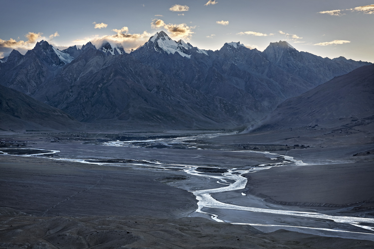 Towards Padum, Zanskar, India