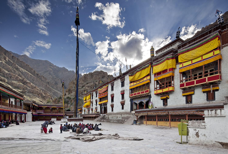 Courtyard, Hemis Monastery, Ladakh, India