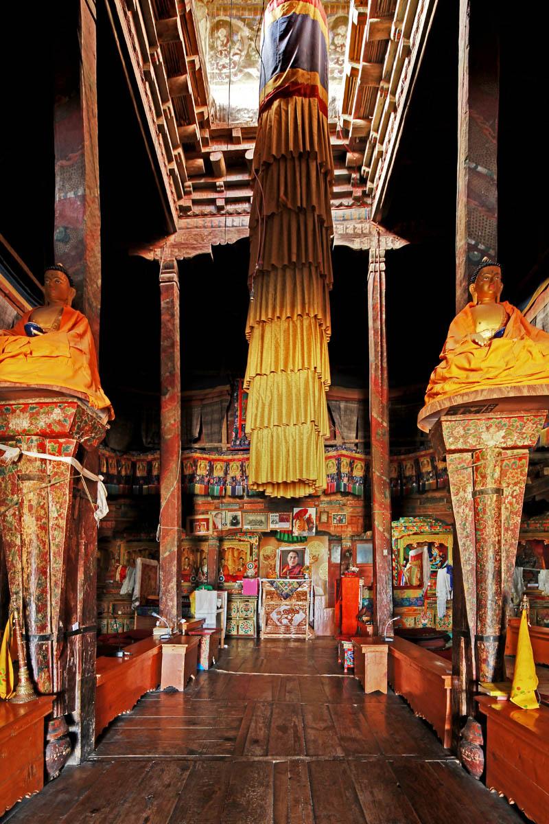 Temple, Thicksey Monastery, Ladakh, India
