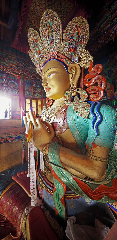 Big Buddha, Thicksey Monastery, Ladakh, India
